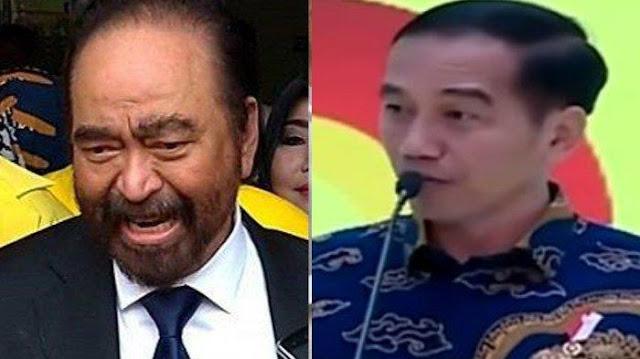 Jokowi-Surya Paloh Tegang, Apa Gara-Gara Jaksa Agung Tidak dari Nasdem?