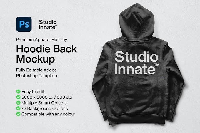 Hoodie Back Mockup[Photoshop][5478455]