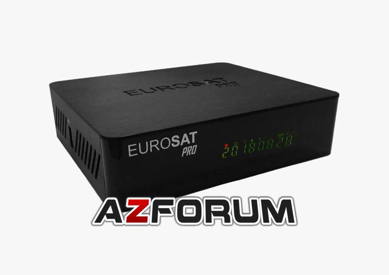 Atualização Eurosat Pro V1 16 - 05/08/2019 - Az Fórum | Atualizações