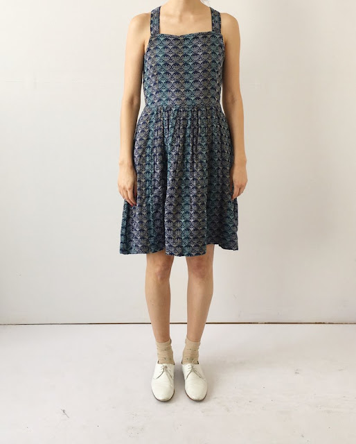 Ace & Jig Pinafore Minidress in Carnaby