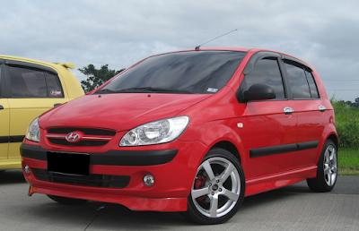 Hyundai Getz Modifikasi