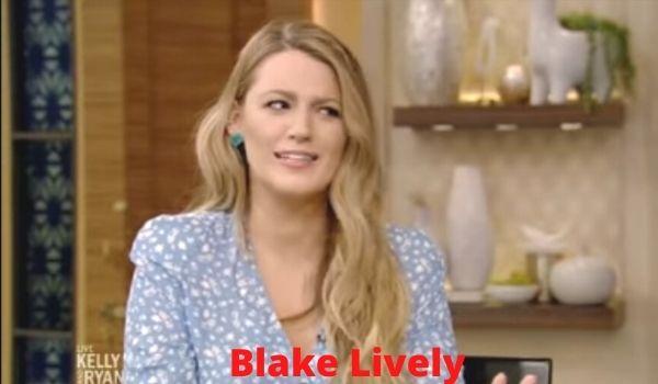 Blake Lively height