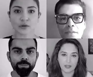 Anushka Sharma, Virat Kohli join Vidya Balan, Karan Johar in fight against domestic violence, watch video