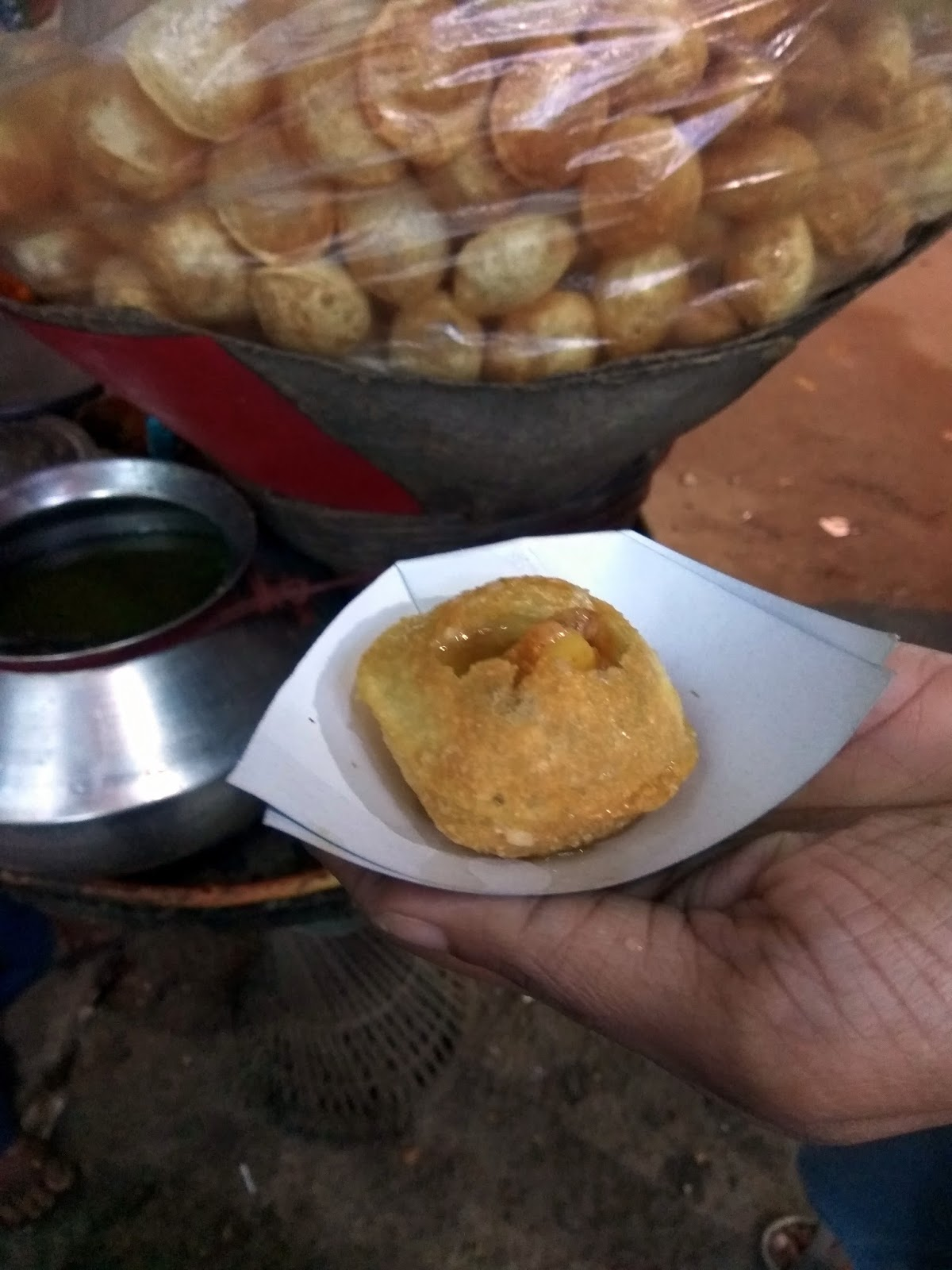 street food, India, chaat,