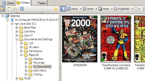 How to Re-size Digital Comics in ComicRack for use with
