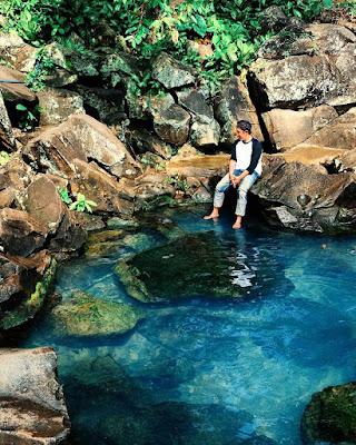 Mata Air Way Biyah di Desa Canti Lampung Selatan