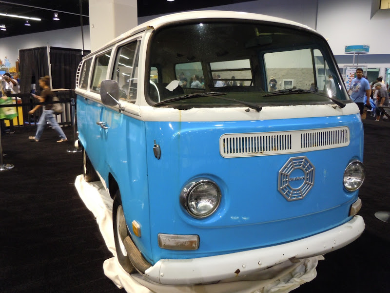 LOST Dharma Initiative VW van