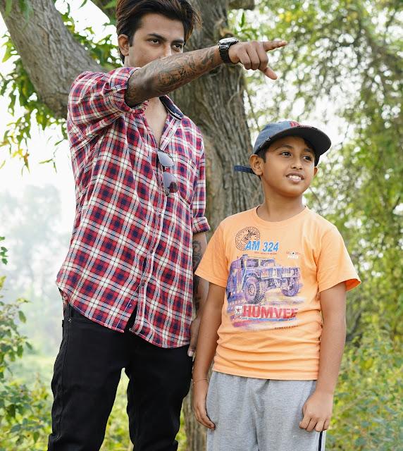 Sourajit Saha With Rick 10
