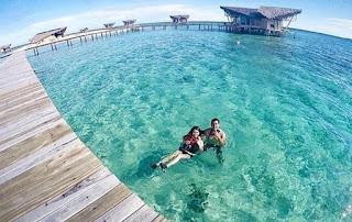 tropical honeymoon places Pulo Cinta, Gorontalo