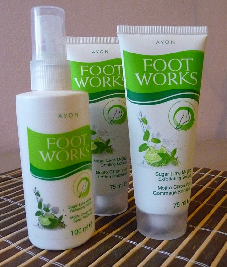 Avon FOOT WORKS SUGAR LIME MOJITO