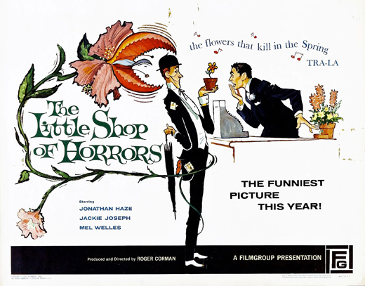 Poster - The Little Shop of Horrors, 1960