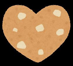 クッキーのイラスト(ナッツ)