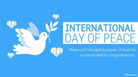 27+ [Best] International Day of Peace 2020: Quotes, Sayings, Wishes, Messages, Images, Poster, Pictures