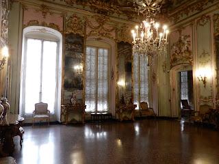 ジェノヴァのMuseo di Palazzo Realeの広間
