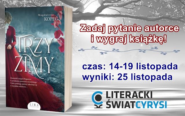 Do wygrania ''Trzy zimy'' Magdaleny Kopeć