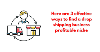 3 effective ways to find a drop shipping business profitable niche