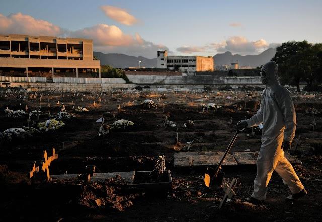 'Frescura' para Bolsonaro, pandemia matou mais 1.699 pessoas, em 24h, no Brasil