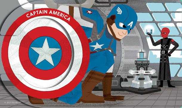 Marvel Alphablock: The Marvel Cinematic Universe - Captain America