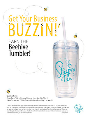 Buzzin Beehive Tumbler from Steeped Tea