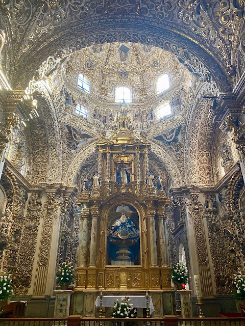 Capilla del Rosario - Rosary Chapel - Church of Santo Domingo, Puebla, Mexico