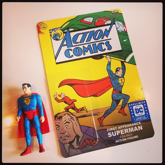 Funko Superman 1st Appearance figure