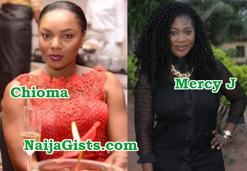 mercy johnson chioma akpotha fighting