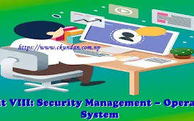 Unit VIII: Security Management – Operating System