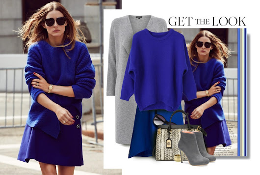 Get The Look: Olivia Palermo Monochrome Blue