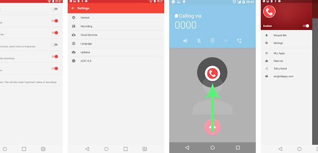 تطبيق Call Recorder ACR لتسجيل المحاثات الهاتفية في هواتف أندرويد