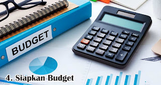 Siapkan Budget merupakan salah satu tips sukses mengadakan launching produk