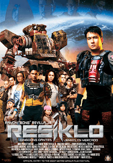 Resiklo is a 2007 Philippine post-apocalyptic sci-fi romance comedy movie starring Sen. Bong Revilla.