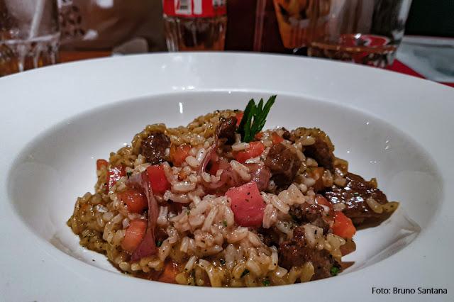 Risoto criollo,  prato do restaurante La Bodega de la Trattoria, Lima, Peru