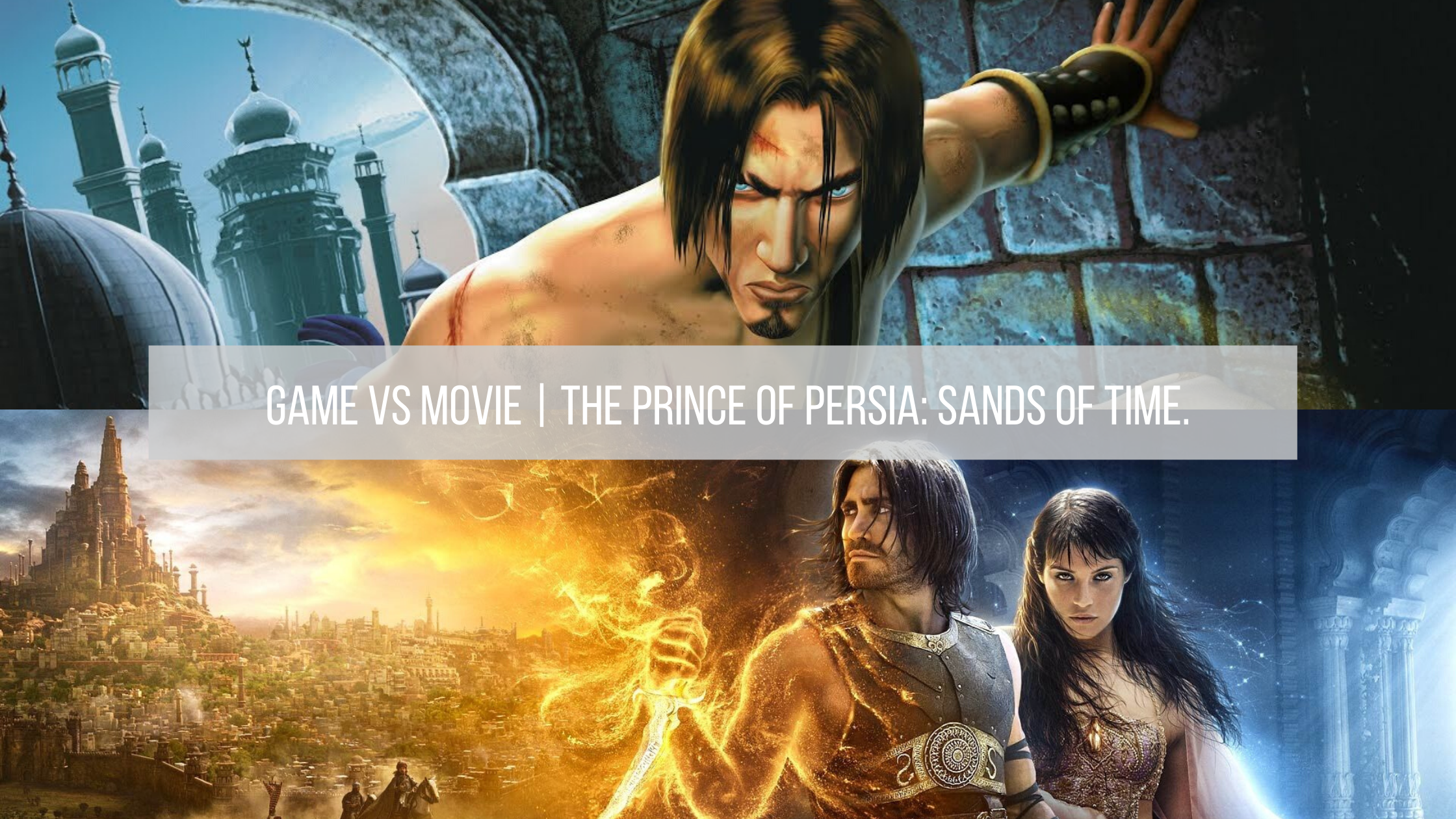 Game Vs Movie The Prince Of Persia Sands Of Time Elle May