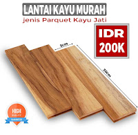 lantai kayu murah jati