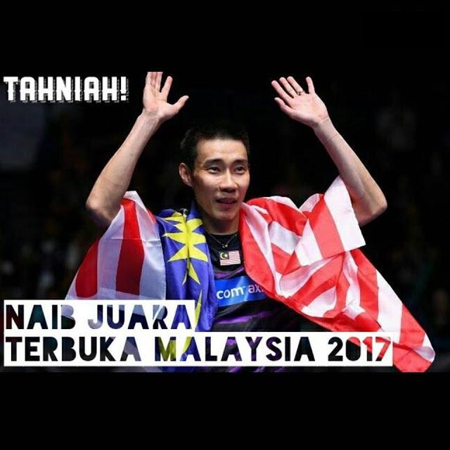 Keputusan Badminton Lee Chong Wei 9.4.2017 Final Terbuka Malaysia