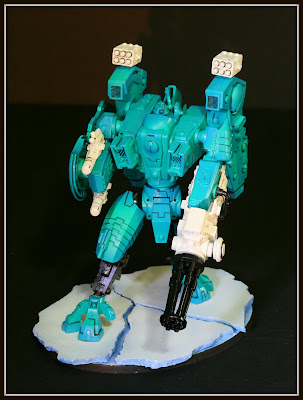 Tau Riptide with Heavy Burst Cannon