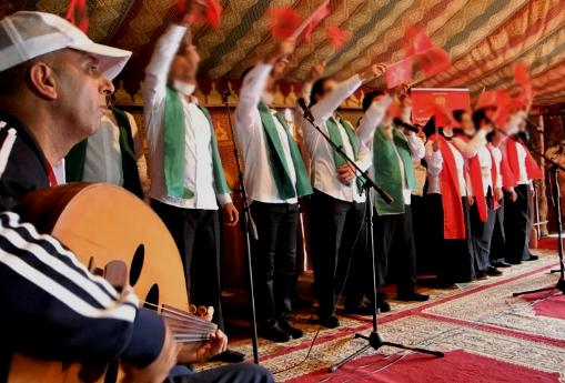 La « Caravane Marocaine du Sahara » promeut les principes de citoyenneté auprès des détenus des institutions pénitentiaires