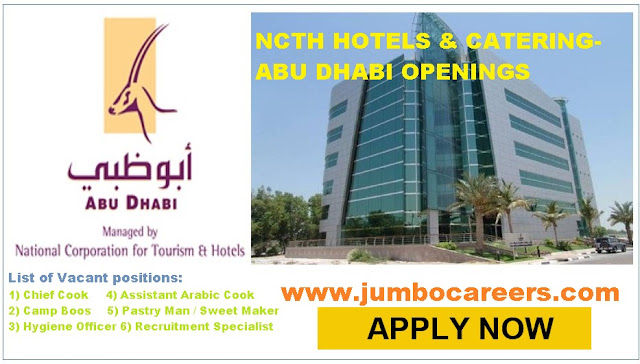 Available hotel jobs in Abu Dhabi, UAE Job vacancies with salary,