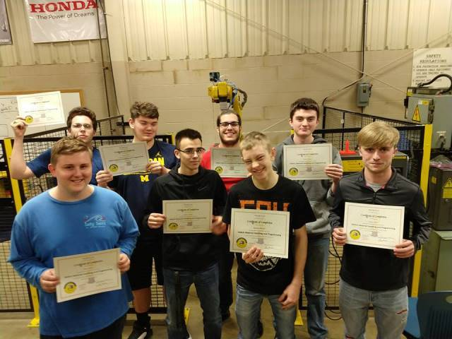 Tri Star CBI Students Earn FANUC Certification