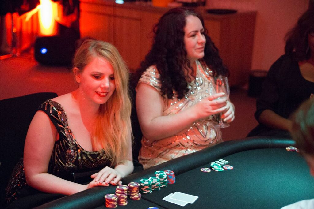 Casino night for charity