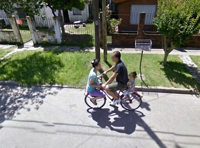 Ela não sabe andar de bicicleta