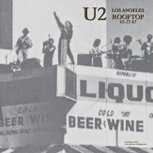 U2 - Liquor Store Rooftop, Los Angeles, 27 March 1987 (CD