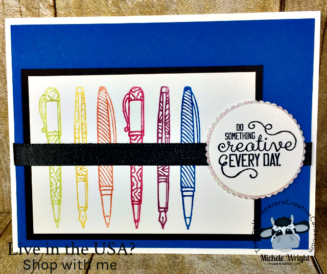 Card, Crafting Forever, Clean & Simple, Stampin Up