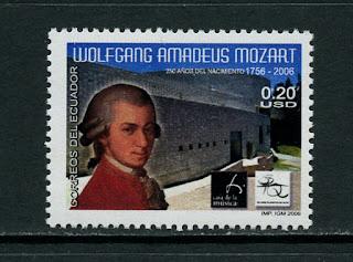 Ecuador Wolfgang Amadeus Mozart