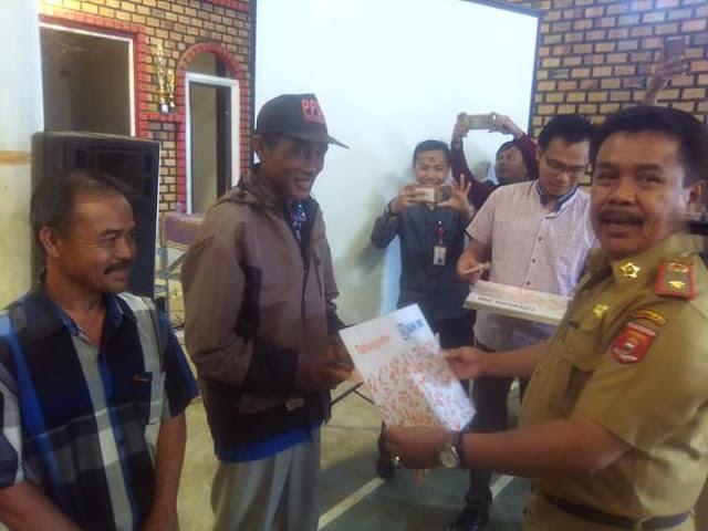 Ansari Bagikan Rekening Program BSPS untuk 350 RTLH