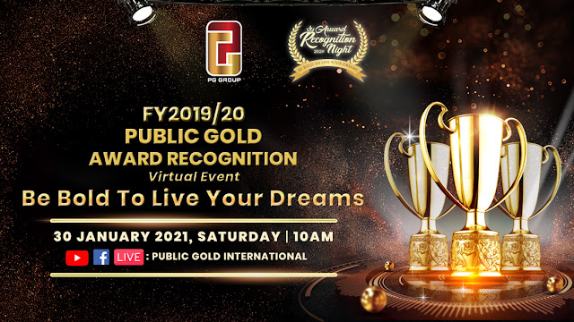 Public Gold Award Recognition Virtual Event FY 2019/20