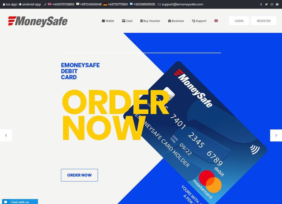 MoneySafe bookmakers