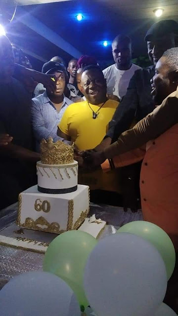 Amazing! Check Out Photos From Mr Ibu's 60th Birthday Celebrating Party