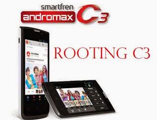 tutorial Cara Root dan Install CWM di Smartfren Andromax C3 ad681H