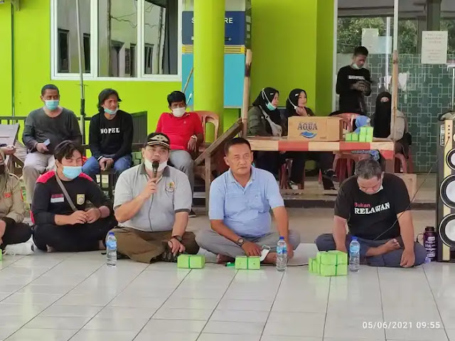 Gabungan SAR dan Relawan ersatu Melakukan Aksi Nyata  Selamatkan Mata Air Danau Indah